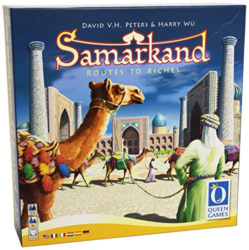 Queen Games 60582 - Samarkand, Brettspiel