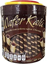 Galleta barquillo de chocolate Wafer Rolls Bote de 975 g