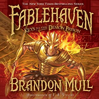 Keys to the Demon Prison     Fablehaven, Book 5              Written by:                                                                                                                                 Brandon Mull                               Narrated by:                                                                                                                                 E. B. Stevens                      Length: 17 hrs and 37 mins     8 ratings     Overall 4.9