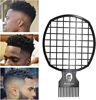 Magic Afro & Twist Comb for Natural Hair & Dreads, Twist Hair Comb and Weave Dreadlocks, Afro Hair Coil Pick Magic Afro & Twist Comb for Natural Hfor Men, Barber and Personal Use, Super Easy to Clean