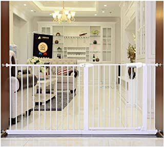 Telescopic Baby Gates for Stairs Fence Door Pet Fence Isolation Door Free Punching Dual Lock Self Closing