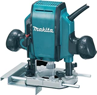 """Makita RP0900X/2 240V 1/4"""" Or 3/8"""" Plunge Router Supplied In A Carry Case"""
