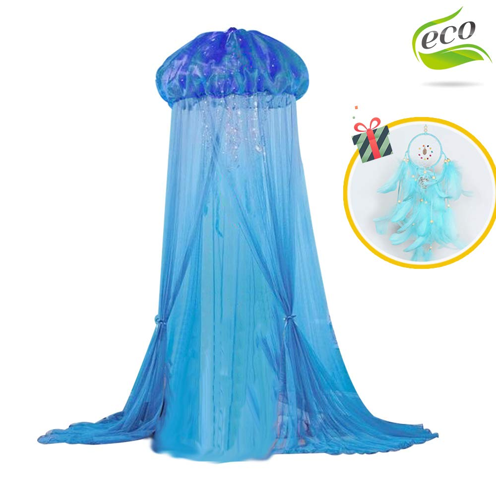 LIOOBO Black Mosquito Net 4 Corner Post Bed Canopy Quick and Easy Installation for King Size Beds Queen Size Bed Curtain for Bedroom 190x210x240cm