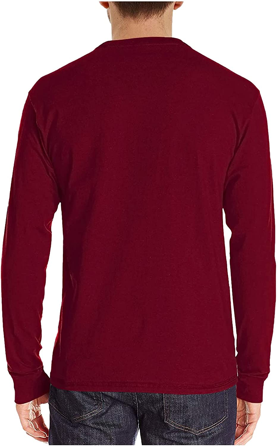 Mens Long Sleeve Henley Max 71% OFF Shirts Sli Lightweight Solid Tops Casual Max 83% OFF