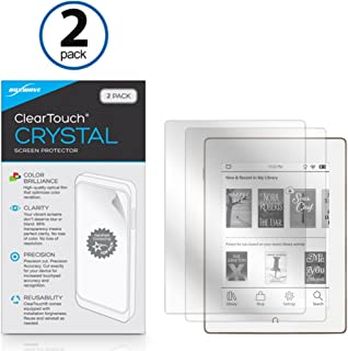 Barnes & Noble Nook GlowLight Plus Screen Protector, BoxWave [ClearTouch Crystal (2-Pack)] HD Film Skin - Shields From Scratches for Barnes & Noble Nook GlowLight Plus