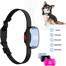 2019 Small Dog Bark Collar, Humane 7-Level Sensitivity Training Collar with Beep, Vibration, No Shock Collar for Medium Dogs, Safe Dog No Bark Collars