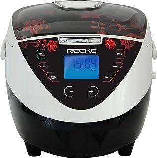 Recke Flower Multi Cooker, Black Mc-150