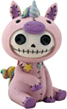 SUMMIT COLLECTION Furrybones Unie Signature Skeleton in Pink Unicorn Costume with Stars..
