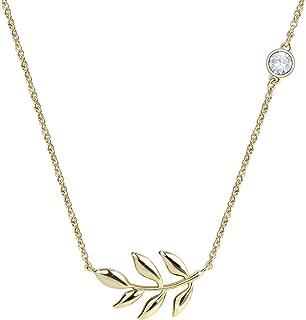 Best gold leaf pendant necklace Reviews