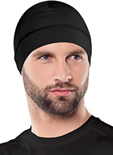 OutdoorEssentials Skull Cap Helmet Liner for Men - Winter Beanie Hat for Running, Skiing, Cycling - Ultimate Thermal Retention & Performance Moisture Wicking - Fits Under Helmets