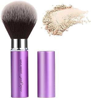 vela yue Retractable Makeup Brush Face Powder Blush Bronzer Kabuki Brush