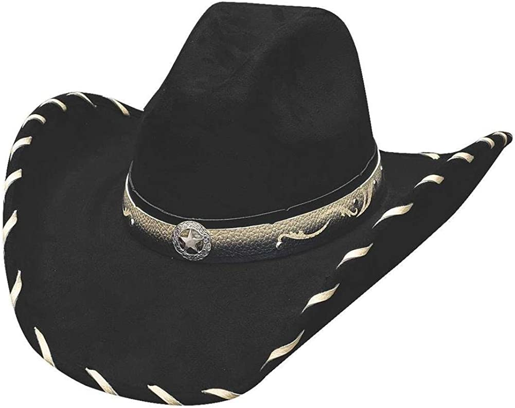Bullhide Hats Montecarlo Straight Shooter High material SALENEW very popular! Cowboy Felt Weste Faux