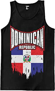 Torn Dominican Republic Flag - Dom Rep Pride Men's Tank Top