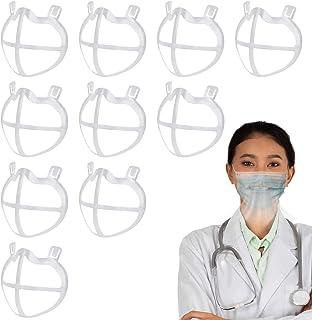 10 Soporte 3D para la forma de la boca, marco de soporte interno de silicona 3D para cubrir la , soporte de respiración re...