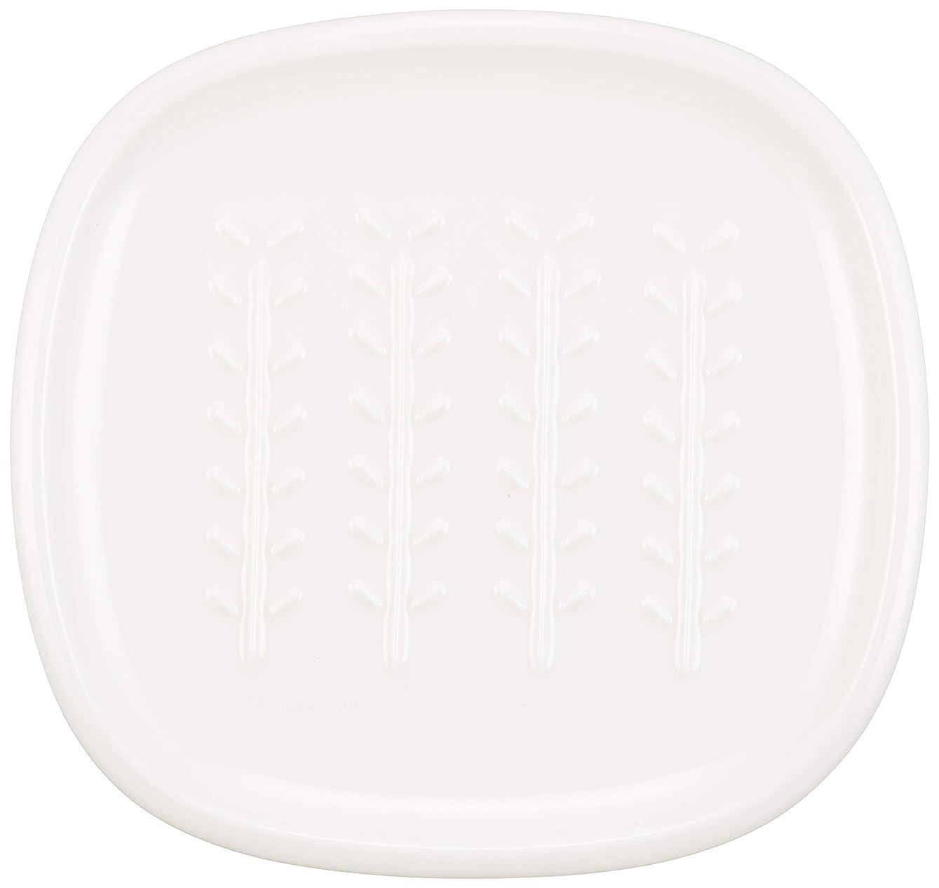 ピグマリオン金曜日固めるCRUST パン皿(小枝柄) アイボリー 58-013-201