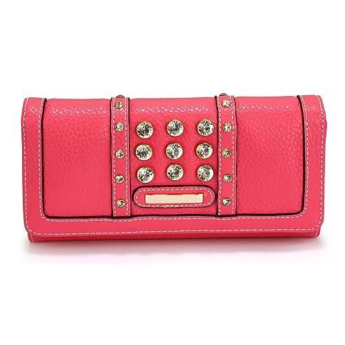 6348e94f2f74 Ladies Large Purses Women Wallet Zip Designer New Luxury Card Holder Long  Bag