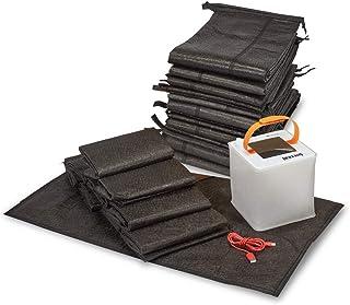 Quick Dam QDERLKIT Emergency Home Flood Prevention Kit, Black, 23 Piece