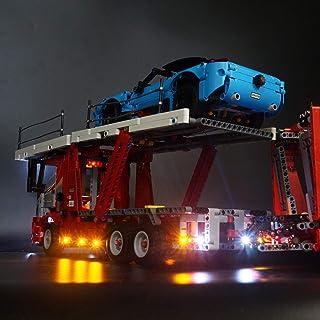 LifeIdea DIY LED Light Lighting Kit ONLY For LEGO 42098 Technic Car Transporter Bricks Toys