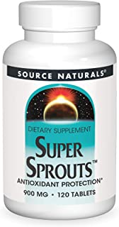 Source Naturals Super Sprouts 900mg, 120 Tablets