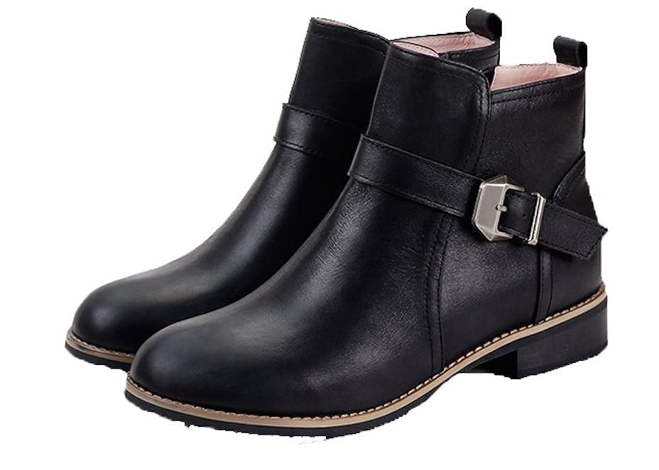 ジェーンオースティン悪党言い訳ウォーキングシューズ ブーツ レディース 革 レザー ビジネスシューズ 革靴 軽量 カジュアル (23.5, ブラック)