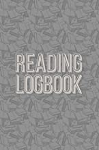 Reading Logbook: Reading Tracker Journal, Book Review Notebook, Great Gift for Book Lovers, White Paper, 6″ x 9″, 110 Pages