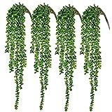 CEWOR 4pcs Artificial Succulents...