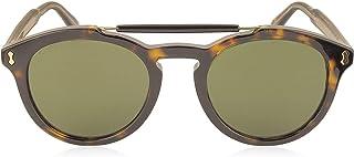 Luxury Fashion   Gucci Mens GG0124S002 Brown Sunglasses   Season Permanent
