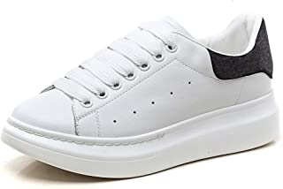14c34254a1aad2 YORWOR Baskets Mode Femme Sneakers Plateforme Chaussures à Lacets Classics  Loisir Confort Casual Trainers Baskets Basses