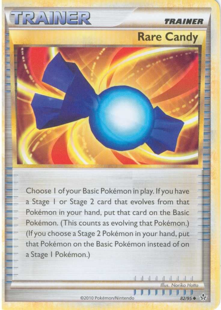 Pokemon Max 82% Ranking TOP8 OFF Legend HS2 Unleashed Single Candy #82 Rare Card Uncommon