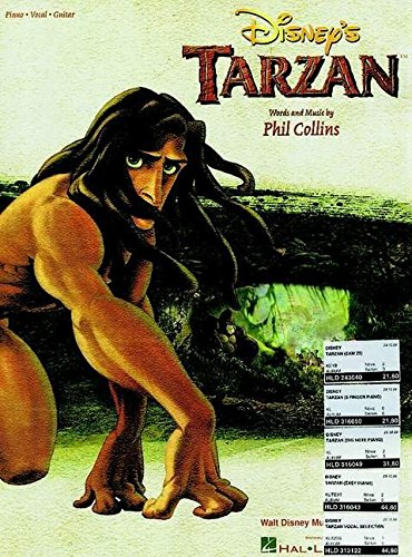 Disney's Tarzan: Piano, Vocal, Guitar