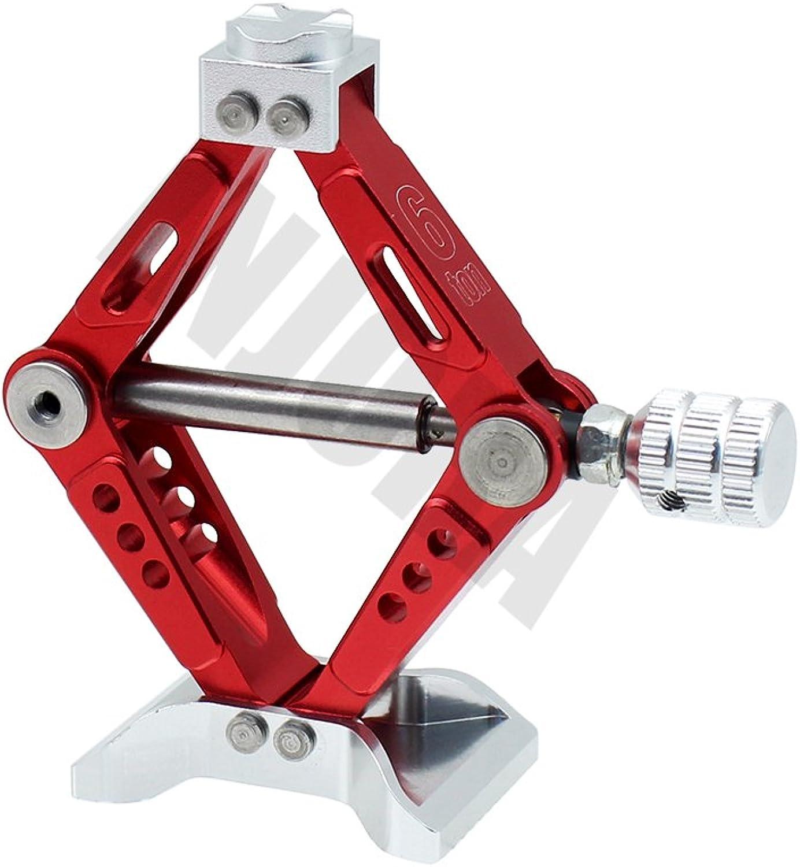 INJORA RC Car 1 10 Accessories Adjustable Scissor Jack Tool for RC Crawler Axial SCX10 Tamiya CC01 RC4WD D90 D110 RC Truck Parts, Metal