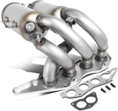 DNA MOTORING OEM-CONV-012 Factory Style Catalytic Converter Exhaust Manifold Replacement