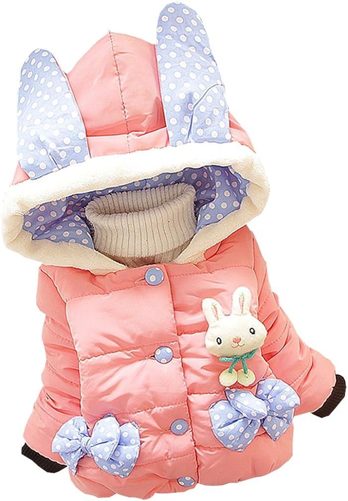 Baby Girls Winter Autumn Free Shipping Cheap Bargain Gift Cotton Many popular brands Coat Rabbit Jacket Warm