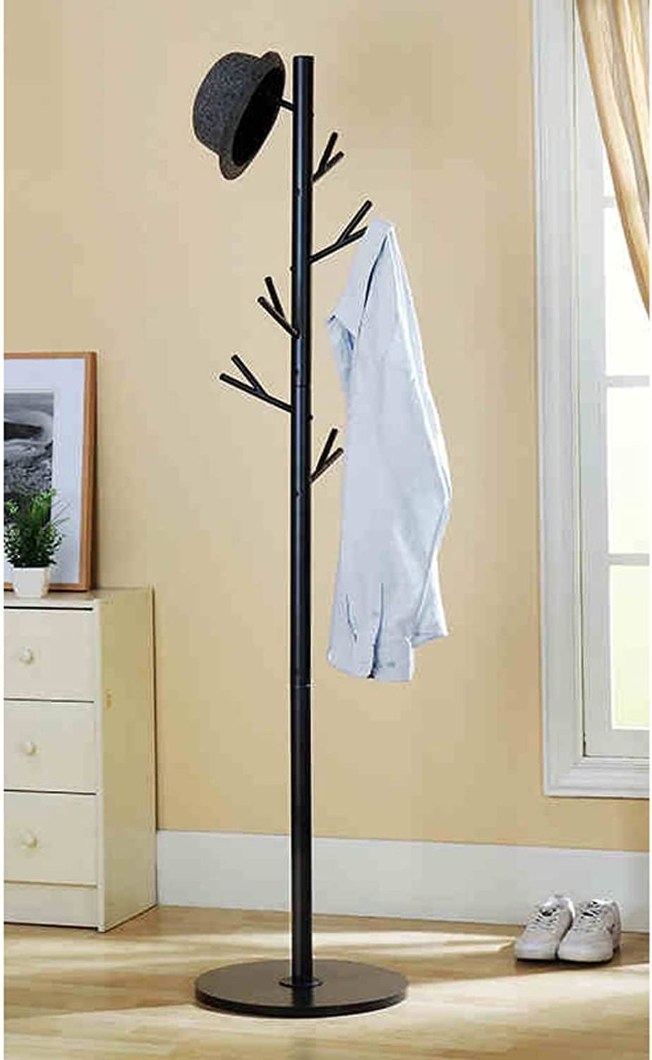 Coat Stand Rack Iron Tree Branches Simple Creative Hangers