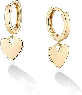 VACRONA Gold Cuff Earrings Huggie Earrings for Women 14k Gold Plated Small Huggie Hoop Earrings