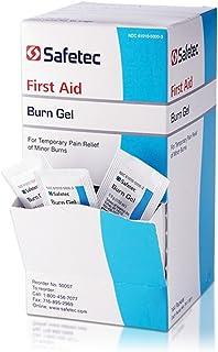 Safetec Burn Gel 0.9 gram 144 count box