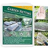 2,5 x 7,35m Gemüseschutznetz Gemüsenetz Insektenschutznetz Pflanzenschutznetz Insektennetz Feinmaschig Kulturschutznetz für Käfer Mücke Fliege Vogelnetz, Blumen Schutznetz für Garten