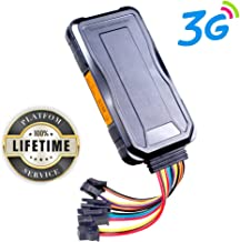 JIMI [Lifetime Service GPS Tracker, GT06E 3G GPS Vehicle Tracker Real Time Car GPS Tracking Precise GPS Locator Positioning&Monitoring for Fleet Management/Taxi/Motorcycle/Logistics+ 27 Smart Alarms