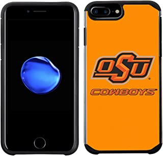 Prime Brands Group Textured Team Color Cell Phone Case for Apple iPhone 8 Plus/7 Plus/6S Plus/6 Plus - NCAA Licensed Oklah...