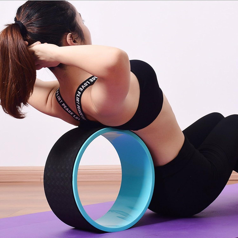 Yoga Wheel,Most Comfortable Dharma Yoga Prop Wheel for Yoga Poses,12 X 5 Inch Basic