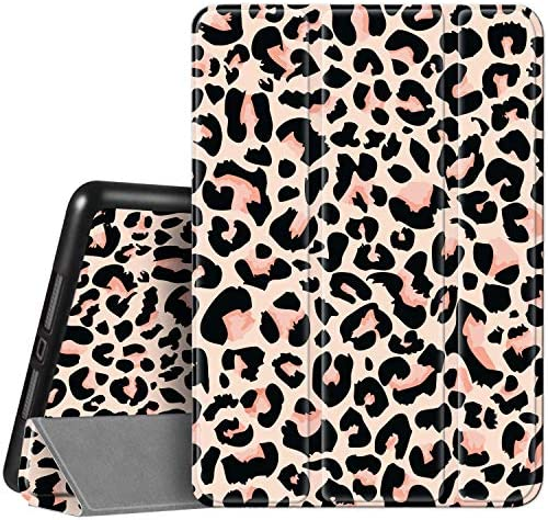 Hi Space iPad 8th 7th Generation Case iPad 10 2 Case with Pencil Holder 2020 2019 Leopard Print product image