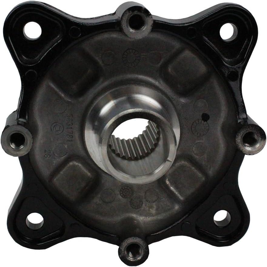 Polaris Rear Limited time cheap sale Wheel Hub Black San Diego Mall Qty OEM Part 5135113-067 Genuine