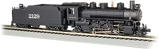 Prairie 2-6-2 Steam Locomotive w/Smoke & Tender - Santa Fe #2129 - HO Scale
