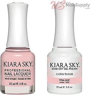 Kiara Sky Matching Gel Polish and Nail Lacquer Petal Dust, 557
