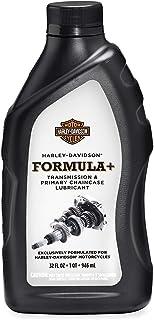 HARLEY DAVIDSON Formula+ Transmission & Primary Chaincase Oil (1 L)   Hochwertiges Getriebeöl und Primärkettenkasten Öl   Motorrad Zubehör Schmiermittel Öl für Big Twin Modelle und Sportster