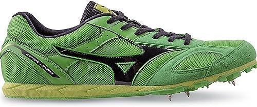 Mizuno - Hauszapatos de atletismo de Material Sintético para hombre verde Classicverde negro