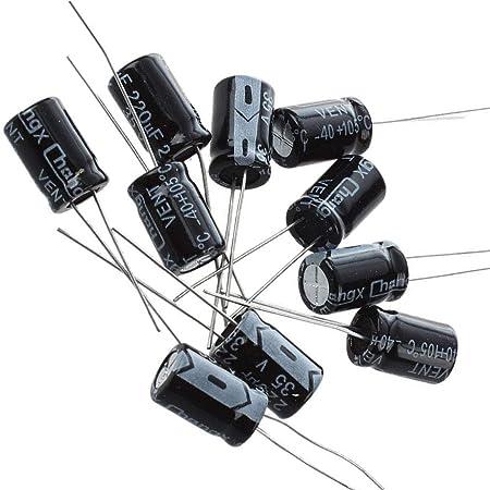 5x Condensateur 220uF 35V 8x12mm Chengxing 6con035