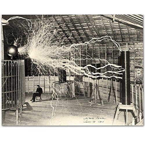 Tesla and Transformer Print