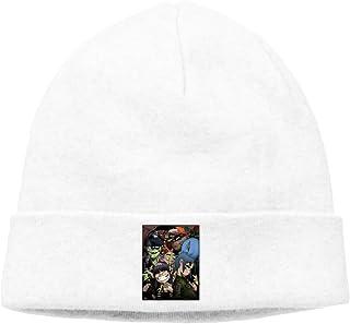 08aaa2be51a Cartoon DJ Art Unisex Winter Knitting Wool Warm Hat Daily Slouchy Hats  Beanie Skull Cap