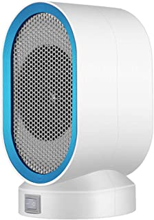 ZISIJI Calefactor portatil electrico/Calefactor/Calefactor pequeño,350-400W para Sala de Estar, Dormitorio, Oficina, etc,Azul
